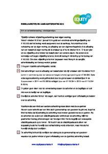 ! Er is geen notariële schenkingsakte vereist.! Ook schenkingen voor de aflossing van restschulden die zijn ontstaan vóór 29 oktober 2012