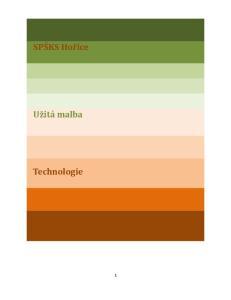 Spsks Horice Uzita Malba Technologie Pdf Free Download