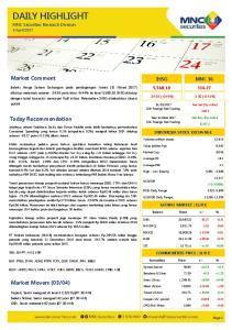 04) IHSG MNC 36. MNC Securities Research Division 3 April