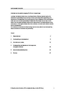 1 Basisonderwijs 2. 2 Voorbereiding op de basisschool 5. 3 Informatie voor ouders 14