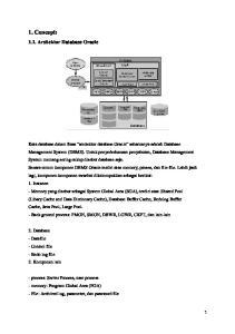 1. Concept: 1.1. Arsitektur Database Oracle