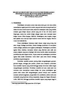 1 Dosen tetap yayasan Sekolah Tinggi Agama Islam (STAI) Ngawi