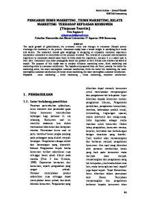 1. PENDAHULUAN Latar belakang penelitian. Serat Acitya Jurnal Ilmiah UNTAG Semarang