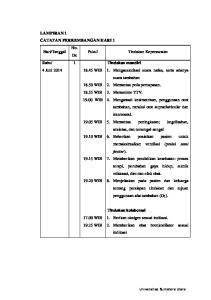 1. Tindakan mandiri 4 Juni 2014