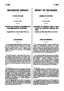 1. Voorstel van resolutie ter bestrijding van vrouwelijke genitale verminking
