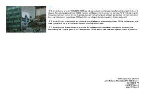 1010 architecture urbanism John Waterloo Wilsonstraat 11, 1000 Brussel