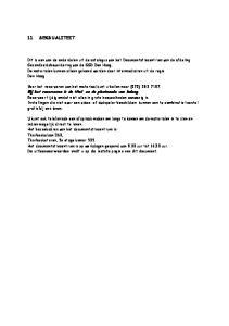 11 SEKSUALITEIT. Bij het reserveren is de titel en de plaatscode van belang