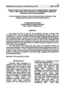 116 ZIRAA AH, Volume 28 Nomor 2, Juni 2010 Halaman ISSN