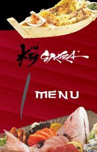 12. MAGURO TATAKI WASABI 235,- lehce opečený kořeněný tuňák s wasabi omáčkou lightly seasoned grilled tuna with wasabi sauce