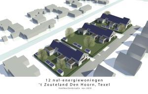 12 nulenergiewoningen 't Zouteland, Den Hoorn Texel