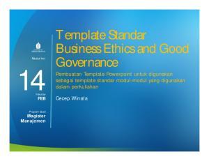 14FEB. Template Standar Business Ethics and Good Governance