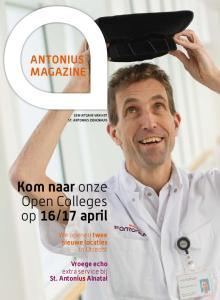 17 april ANTONIUS MAGAZINE. We openen twee nieuwe locaties in Utrecht