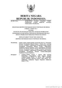 2 2. Undang-Undang Nomor 17 Tahun 2003 tentang Keuangan Negara (Lembaran Negara Republik Indonesia Tahun 2003 Nomor 47, Tambahan Lembaran Negara Repub