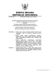 2 2. Undang-Undang Nomor 23 Tahun 2014 tentang Pemerintahan Daerah (Lembaran Negara Republik Indonesia Tahun 2014 Nomor 244, Tambahan Lembaran Negara