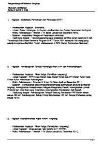 2) Kegiatan Pembangunan Tempat Pelelangan Ikan (DAK dan Pendampingan)