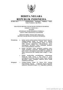 2 Negara Republik Indonesia Nomor 4437) sebagaimana telah diubah beberapa kali terakhir dengan Undang- Undang Nomor12Tahun2008(Lembaran Negara Republi