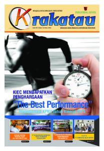 2 Serambi Krakatau CATATAN REDAKSI Manajemen Uhud Pembaca Budiman, Berbahagia sekali kami kembali dapat menghadirkan majalah yang menjadi media inform