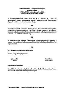 2004.(XI.17.) önkormányzati rendelete A helyi hulladékgazdálkodási tervéről