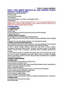 2006 Sb. Rozsah a obsah společné dokumentace pro vydání společného územního rozhodnutí a stavebního povolení Společná