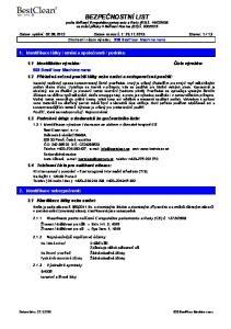 2006 ve znění přílohy II Nařízení Komise (ES) č