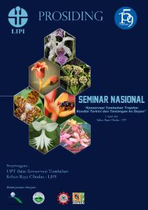 2011 Indonesian Institute of Sciences (LIPI) UPT Balai Konservasi Tumbuhan Kebun Raya Cibodas