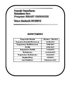 2013 Kerjasama Instiper PT. SMART Tbk