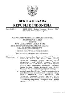 2013 tanggal 9 Juli 2013, telah menyampaikan usulan tarif layanan Badan Layanan Um