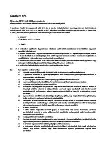 2014. (II. 26.) Korm. rendelete a fogyasztó és a vállalkozás közötti szerződések részletes szabályairól