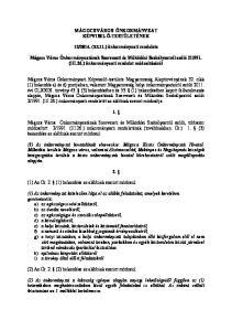 2014. (XI.11.) önkormányzati rendelete