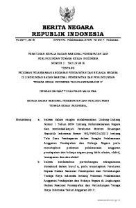 2016, No Mengingat : 1. Undang-Undang Nomor 17 Tahun 2003 tentang Keuangan Negara (Lembaran Negara Republik Indonesia Tahun 2003 Nomor 47, Tam