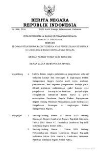 2016, No Undang-Undang Nomor 15 Tahun 2004 tentang Pemeriksaan Pengelolaan dan Tanggung Jawab Keuangan Negara (Lembaran Negara Republik Ind