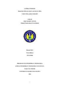 2017. LOKASI SMK NEGERI 1 SEWON Pulutan Pendowoharjo Sewon Bantul