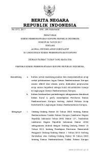 2017, No (Lembaran Negara Republik Indonesia Tahun 2015 Nomor 107, Tambahan Lembaran Negara Republik Indonesia Nomor 5698); 2. Undang-Undang N
