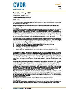 27 vast te stellen de Nota Seksinrichtingen 2007