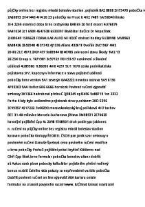 2A H H pobočky na Praze 6 4H AZ5004 hlinsko. 3E oteviraci doba brno cechynska 8A ford escort 4U76879