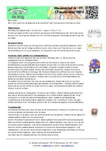 2Nieuwsbrief nr september 2014
