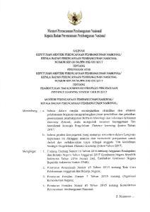 3. Peraturan Presiden Nomor 7 Tahun 201:l tentang Organisasi Kementerian Negaral