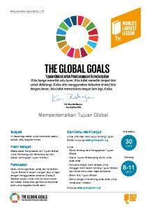 30 menit tahun. Memperkenalkan Tujuan Global. Subjek. Cari tahu lebih lanjut. Hasil belajar. Persiapan