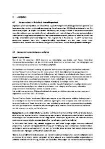 4 Activiteiten. 4.1 Mensenrechten in Nederland: Vreemdelingenbeleid