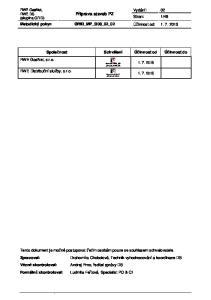 48 Metodický pokyn GRID_MP_G08_02_02 Účinnost od: Příprava staveb PZ. Společnost Schválení Účinnost od Účinnost do