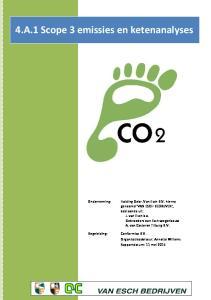4.A.1 Scope 3 emissies en ketenanalyses