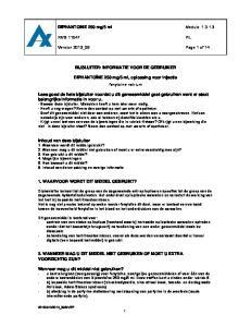 5 ml, oplossing voor injectie fenytoïne-natrium