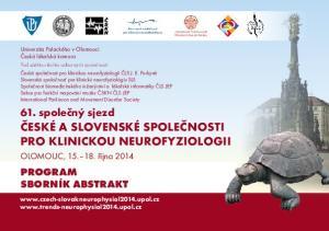 61. společný sjezd České a slovenské společnosti pro klinickou neurofyziologii