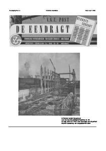 6e Jaargang No. 3-4 Verschijnt maandelijks Maart-April 1956