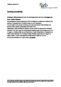 8 februari: GZB-debatavond over De bedreigde kerk met Gert-Jan Segers en imam Yassin Elforkani