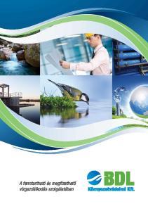 A fenntartható és megfizethető vízgazdálkodás szolgálatában