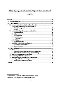 A közép-tiszai táj eredendő működéséről és fenntartható működtetéséről