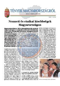 A nemzeti és etnikai kisebbségek. Magyarországon