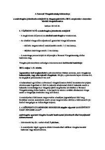 A Nemzeti Vizsgabizottság közleménye. a szakvizsgára jelentkezés módjáról és vizsganaptáráról a szeptember december közötti vizsgaidıszakra
