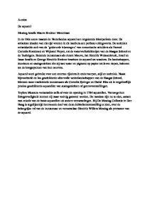 A-tekst. De aquarel. Mesdag Israëls Mauve Breitner Mondriaan